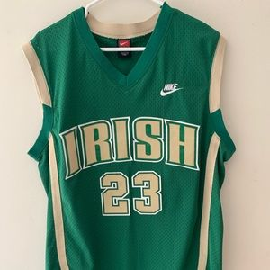 Nike Irish Lebron James Jersey